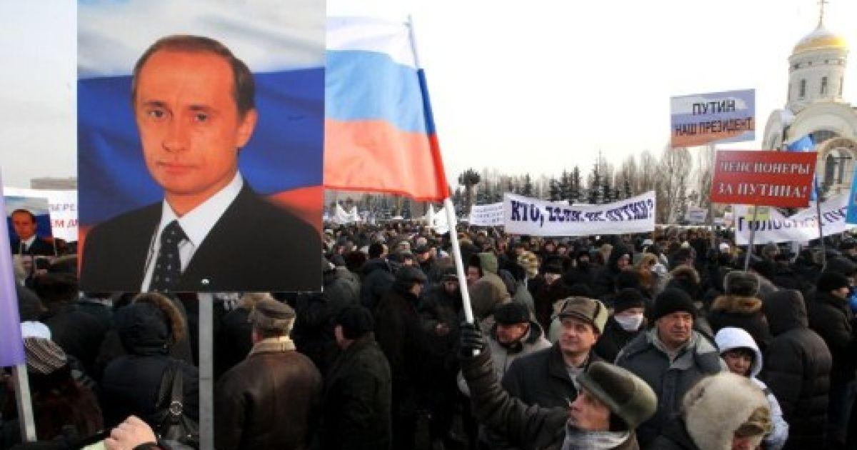Путин пришли свою полицию