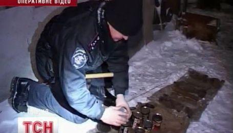 На Одесчине пчеловод на своей пасеке прятал целый арсенал оружия