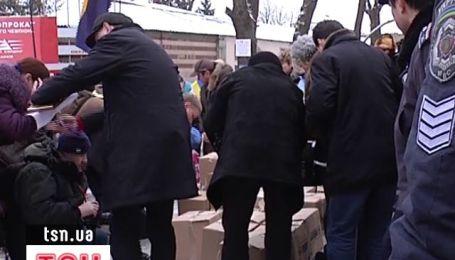 У Качанівський колонії прийняли гуманітарну допомогу