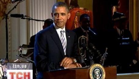 Мик Джаггер, Би Би Кинг и Барак Обама вместе спели джаз