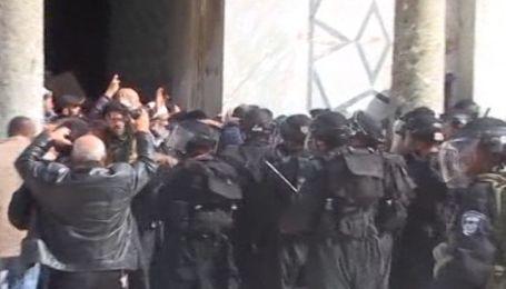 На Храмовой горе в Иерусалиме начались массовые беспорядки