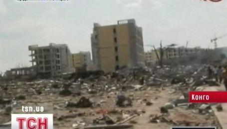 Взрыв на складе боеприпасов в столице Конго