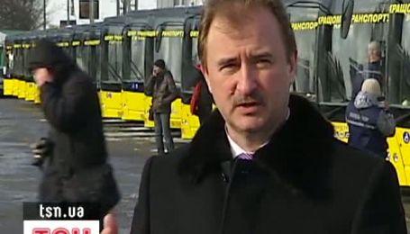 Попов хочет выгнать из Киева маршрутки