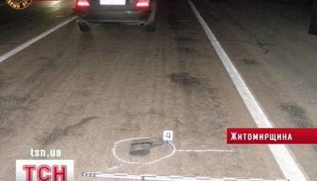 На Житомирщине машина посла Индии сбила насмерть пешехода