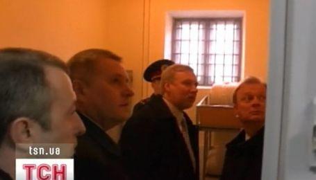 Представители ПАСЕ посетили Юрия Луценко в Лукьяновском СИЗО