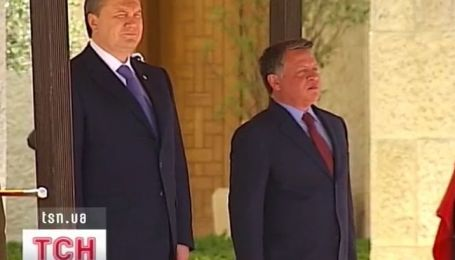 Визит Виктора Януковича в Иорданию