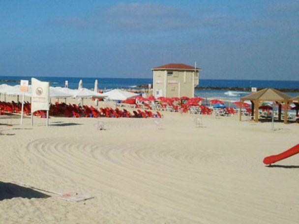 Публичный секс на пляже тельавива