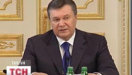 Янукович остался недоволен результатами работы своей команды