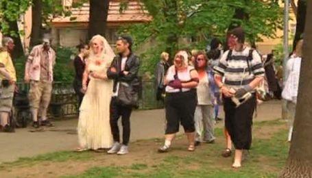 Мерці і зомбі прогулювалися Прагою