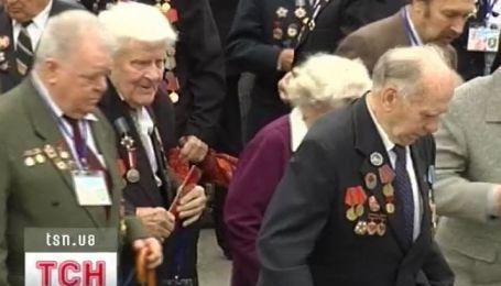 67 годовщину окончания войны отмечали без военного парада
