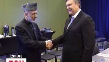 Украина и Афганистан обменяются визитами на высшем уровне