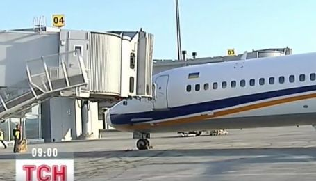 Новый терминал в Борисполе начал принимать самолеты