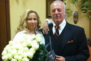 74-летний Илья Резник пошел к алтарю