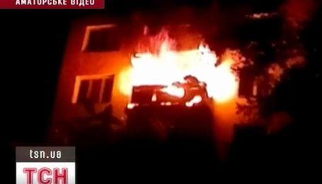 Трое людей пострадали в результате пожара в Одессе