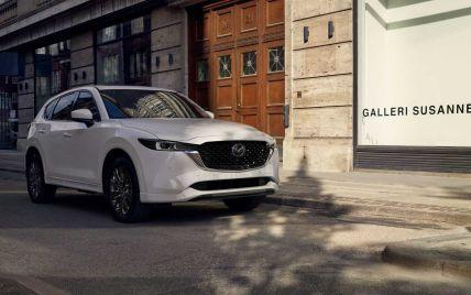 Mazda представила нову версію популярного кросовера