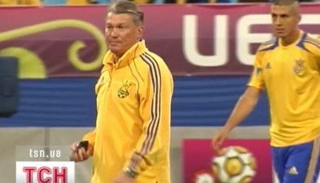 Олег Блохин останется на посту главного тренера украинской сборной до 2014-го года