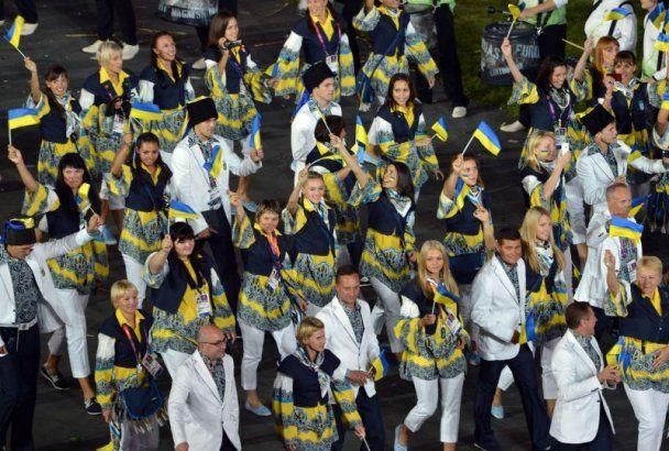 Українці на олімпійському параді пройшлися в козацьких шапках