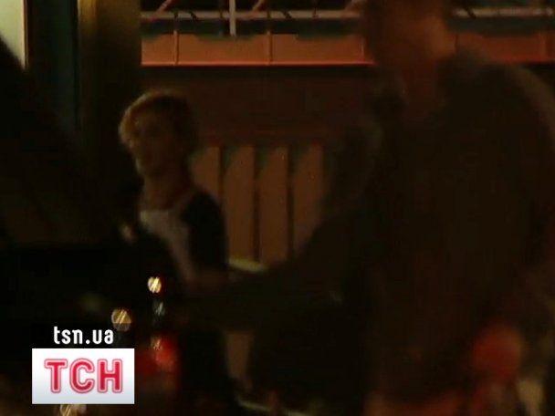 Мадонна ночью прилетела в Киев