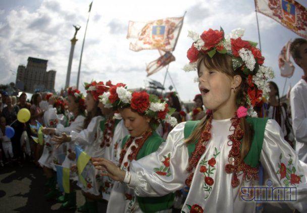 Як Україна відсвяткувала День Незалежності: вишиванки, писанки і екстрим