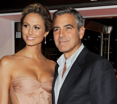 Джордж Клуни и Стэйси Киблер