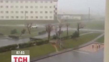Японию парализовал разрушительный тайфун
