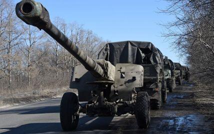 География боев в районе Донецка расширилась, но линия фронта остается стабильной. Карта АТО