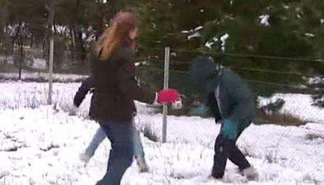 В Австралії вперше за 40 років випав сніг