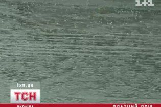Киевлянам готовят новый налог - на дождь
