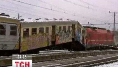 Железнодорожная авария в Словении