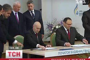 Украина подозревает Россию в скандальном срыве соглашения о газовом терминале