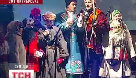"""Финалисты """"Голос. Дети"""" исполнили эксклюзивный вариант """"Щедривкы"""""""