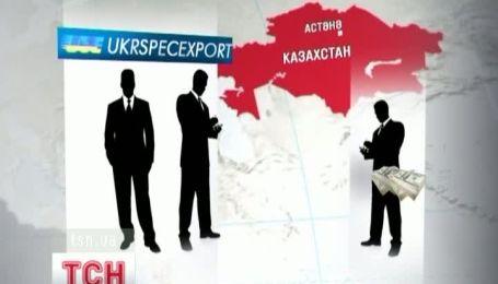 """В Кзахстані чиновників з """"Укрспецекспорту"""" взяли за хабар."""