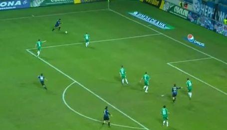 Черноморец - Ворскла - 1:0. Анализ матча
