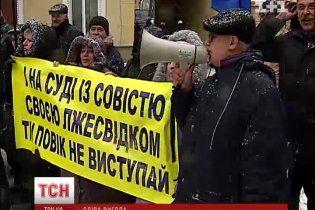 Богачи лишают слепых киевлян единственной базы отдыха