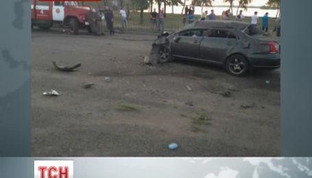 В Днепропетровске пьяный, по словам свидетелей, милиционер устроил ДТП