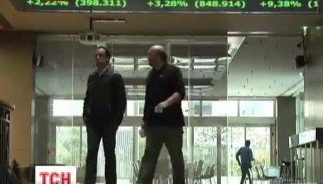 В Греции ограбили Национальный банк