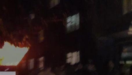 В Киеве произошел пожар в общежитии КПИ