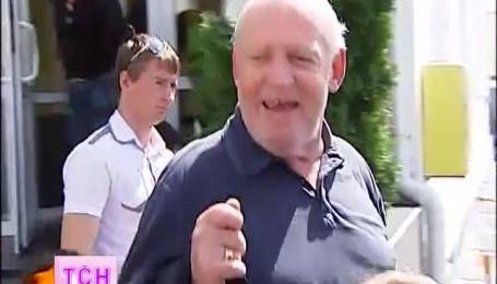 Джо Кокер приехал в Киев