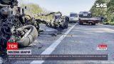 """Новини України: аварія п`ятьох автомобілів на трасі """"Київ-Чоп"""" повністю заблокувала рух"""
