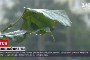 Погода в Украине: синоптики прогнозируют осадки на ближайшие 3 дня