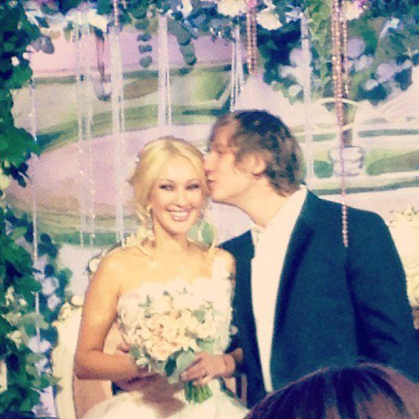 лера кудрявцева свадьба