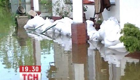 Мощный ураган пронесся над Польшей