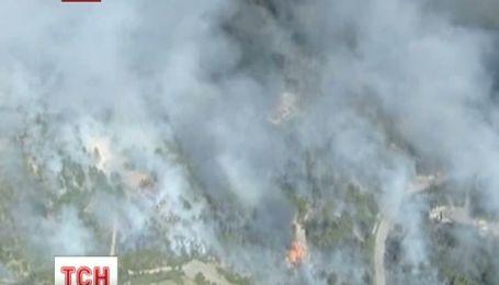 В Колорадо объявили обязательную эвакуацию из-за пожара