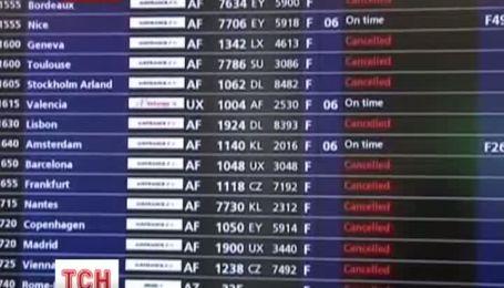 У Франції через страйк авіадиспетчерів скасували авіарейси
