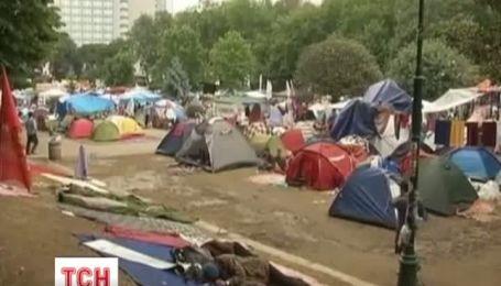 Акции протеста в Стамбуле будут продолжены