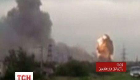 В Росії на військовому полігоні почали вибухати боєприпаси
