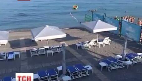 Только один пляж в Крыму получил высшую награду сервиса