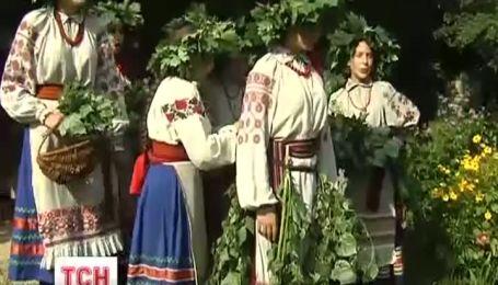 В музее Пирогово начали праздновать троицу