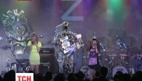 В Японии приобретает популярность новая рок-группа из роботов