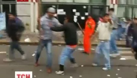 Полиция Перу в столице страны Лиме разогнала демонстрацию студентов